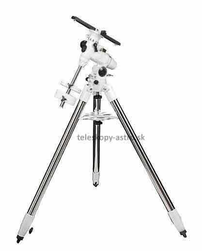 Montáž Sky-Watcher paralaktická EQ3 s oceľovým statívom