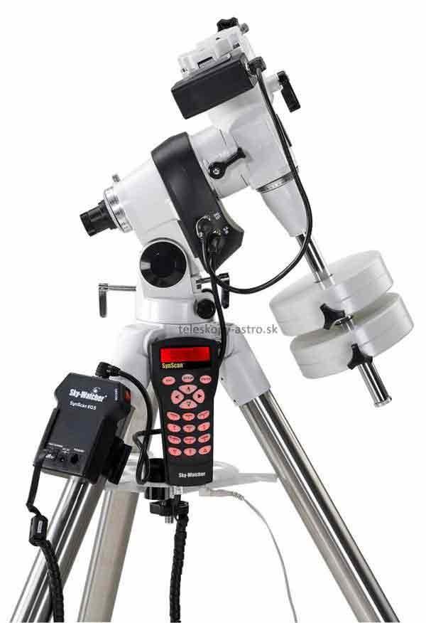 Montáž Sky-Watcher paralaktická EQ5 GoTo s oceľovým statívom