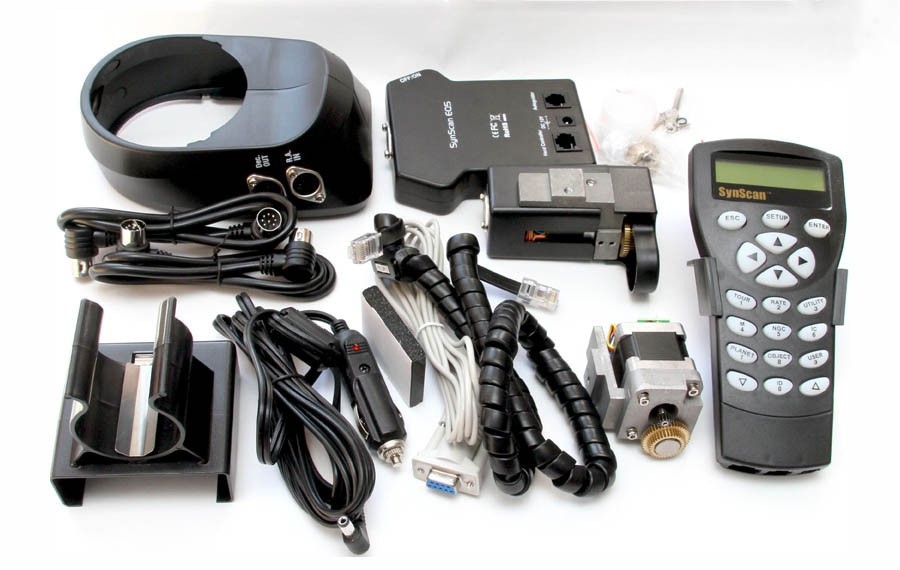 Montáž EQ-5 GoTo Upgrade kit