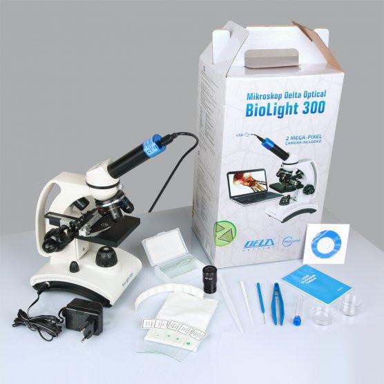 Mikroskop Delta Optical Bio Light 300 s USB kamerou 2MPx